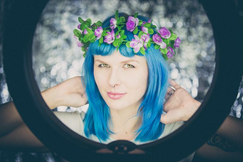 Fotoshooting mit Laura K.
